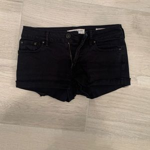 Bullhead black low rise shorts